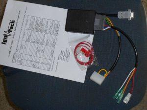 Bild 1: die Ignitech nach dem Auspacken